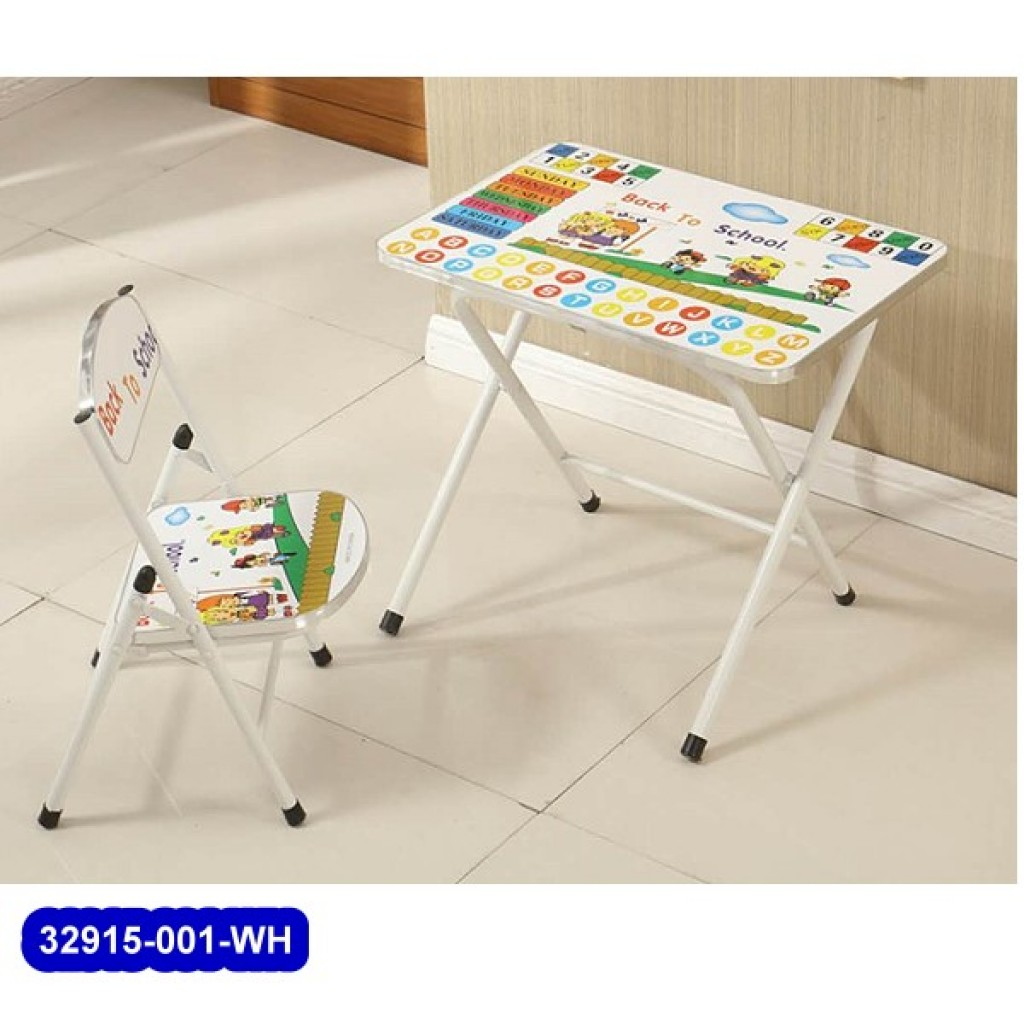 32915-001 Folding Student desk & chair