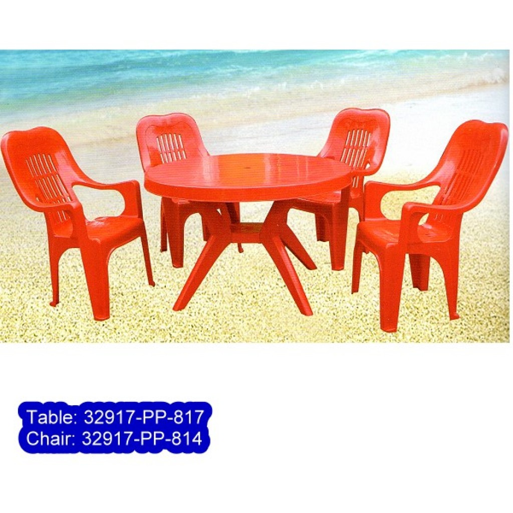 32917-PP-817/814 Plastic table & Chair