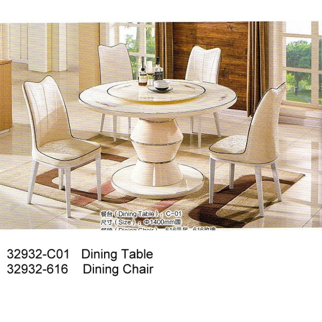 32932-C01-616 Wooden Dining Set