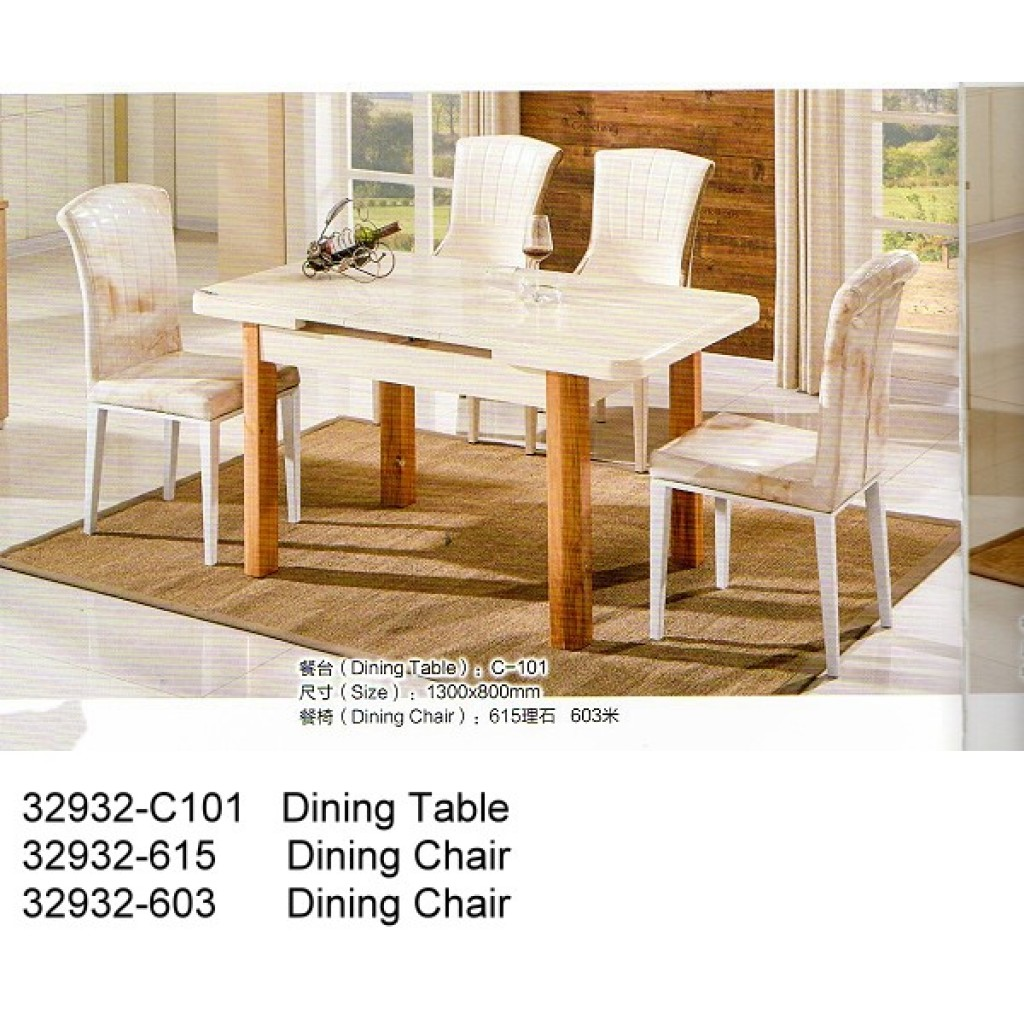 32932-C101-615/603 Wooden Dining Set