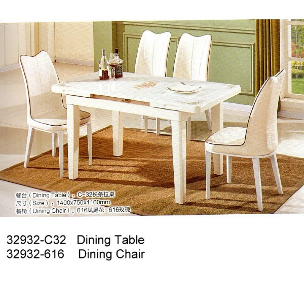 32932-C32-616 Wooden Dining Set