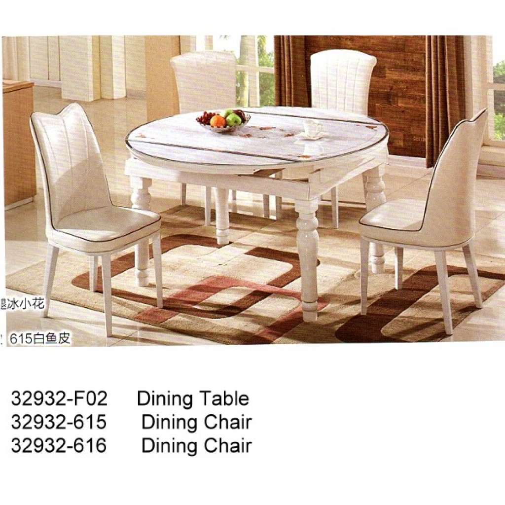 32932-F02-615/616 Wooden Dining Set