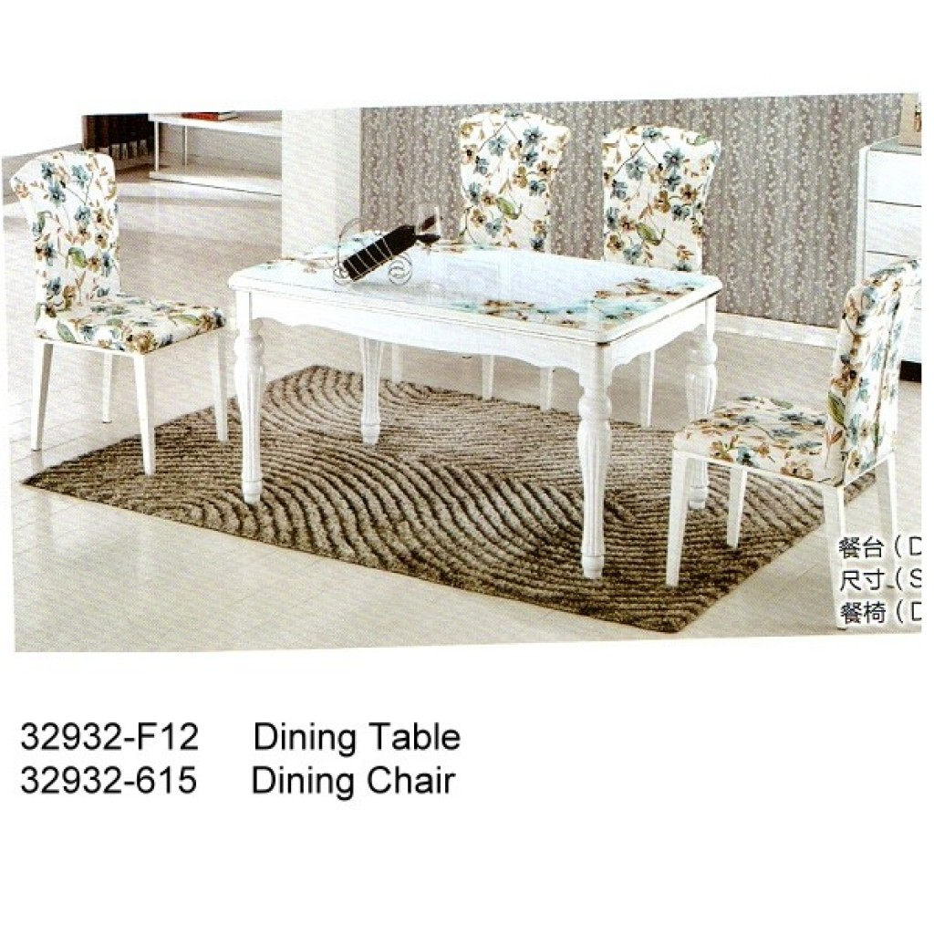 32932-F12-615OH Wooden Dining Set