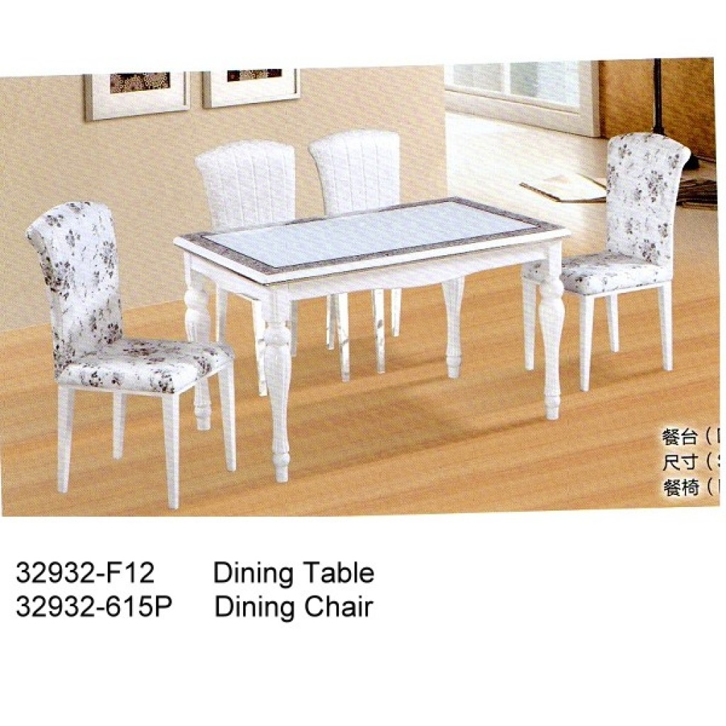 32932-F12-615 Wooden Dining Set