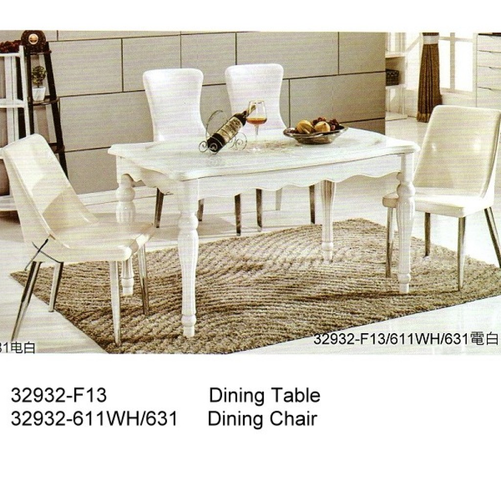 32932-F13-611 Wooden Dining Set