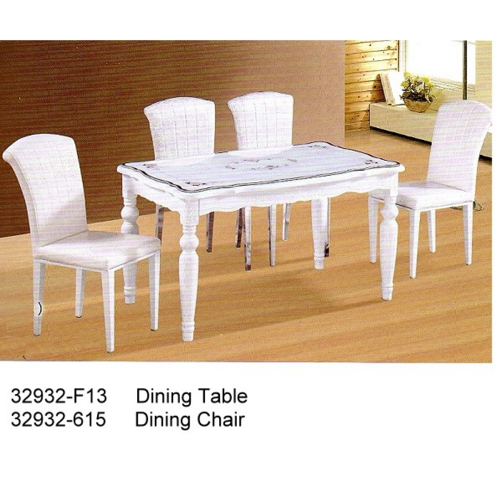 32932-F13-615 Wooden Dining Set