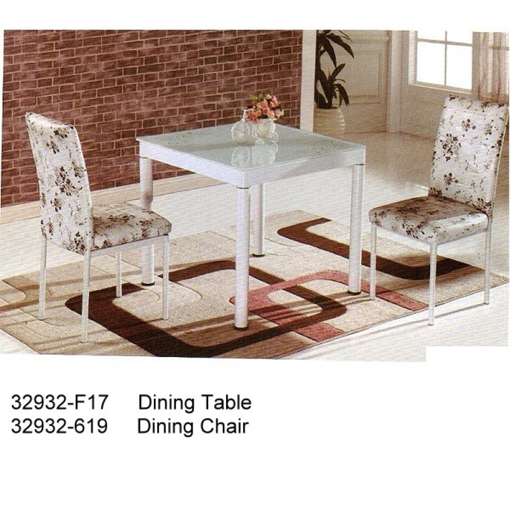 32932-F17-619 Metal Dining Set