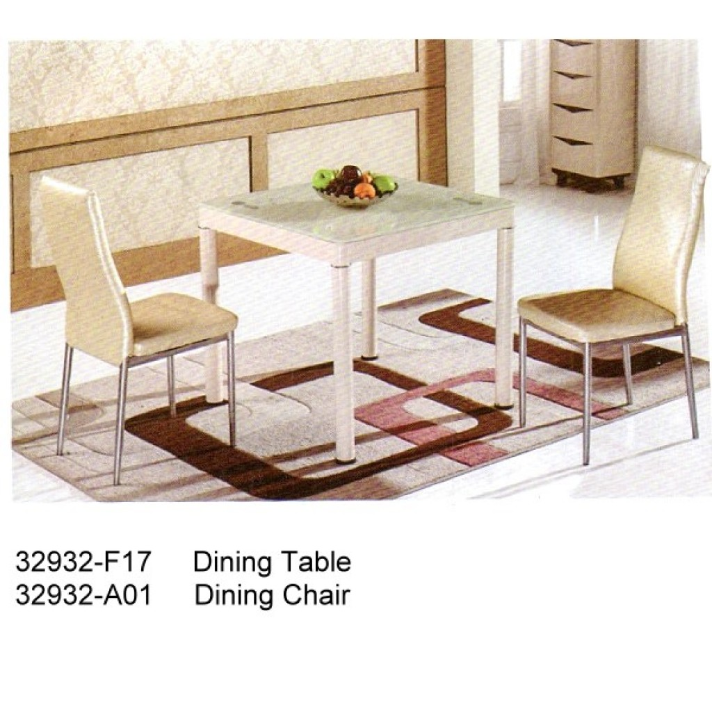32932-F17-A01 Metal Dining Set