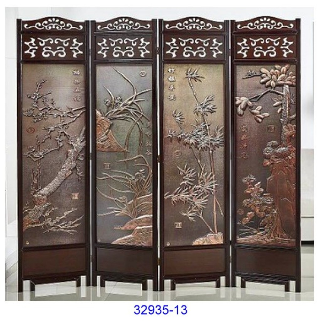 32935-13 Wooden screen