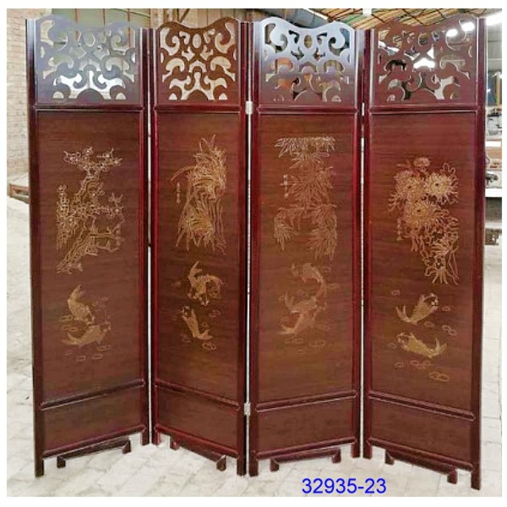 32935-23 Wooden screen