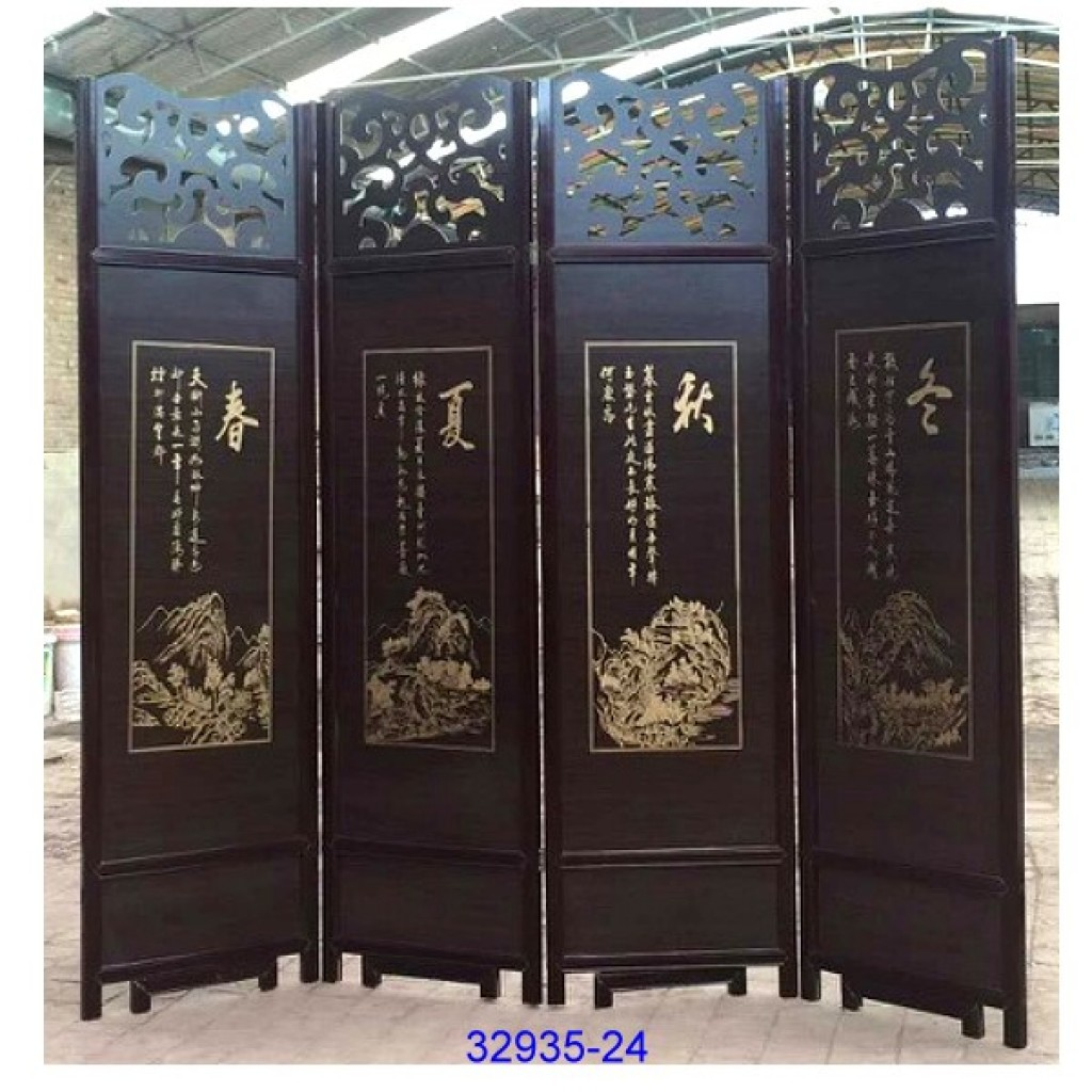 32935-24 Wooden screen