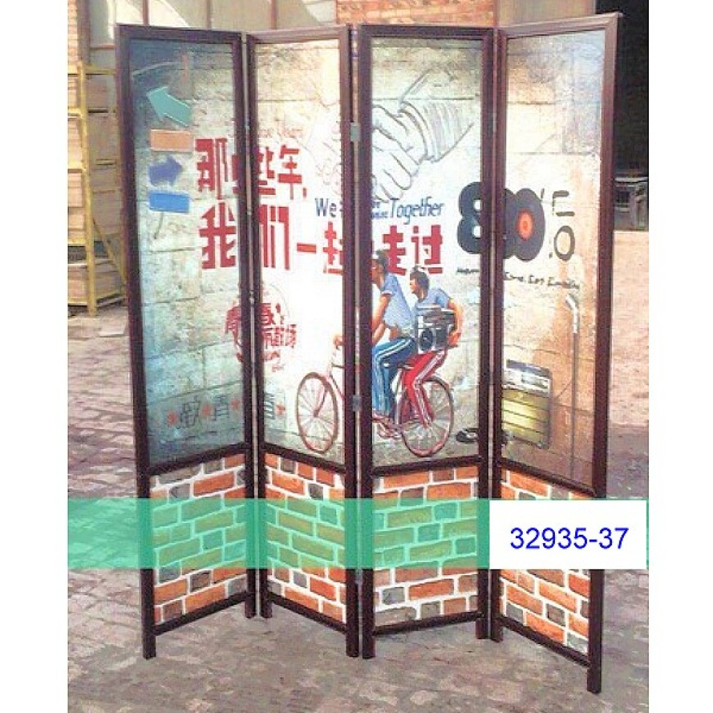 32935-37 Wooden screen