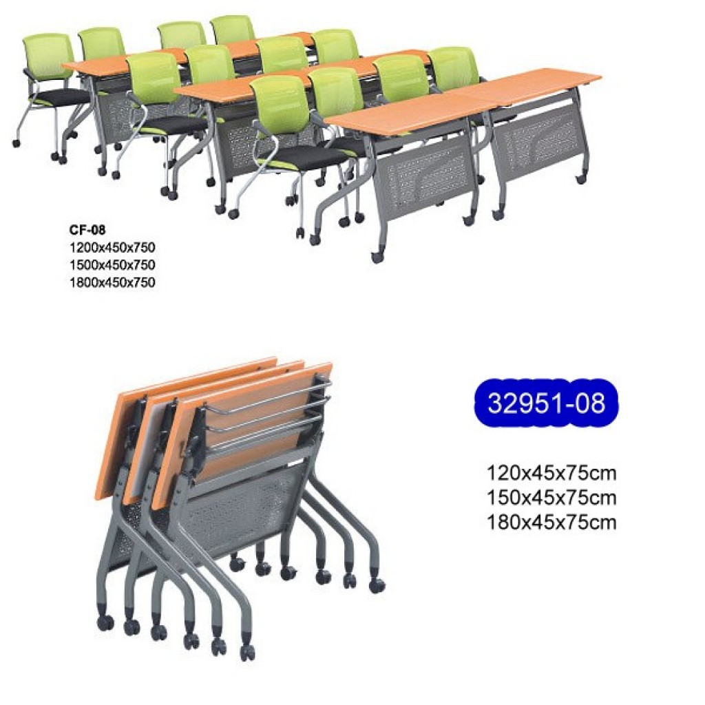 32951-08 Metal folding School Desk