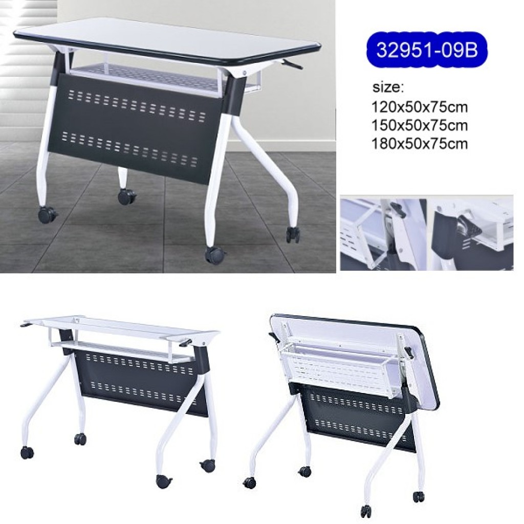 32951-09B Metal folding School Desk