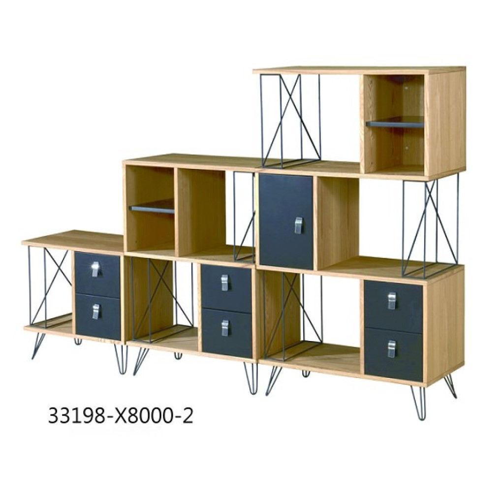 33198-X8000-2 Fashionable Bookcase