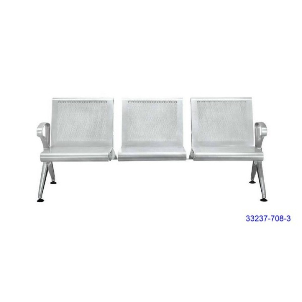 33237-708-3 Stainless Steel Airport Chair