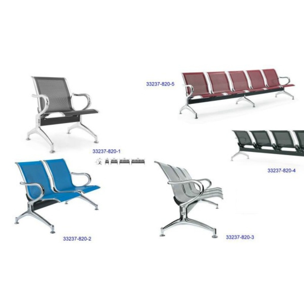 33237-820 Steelplated Airport Chair