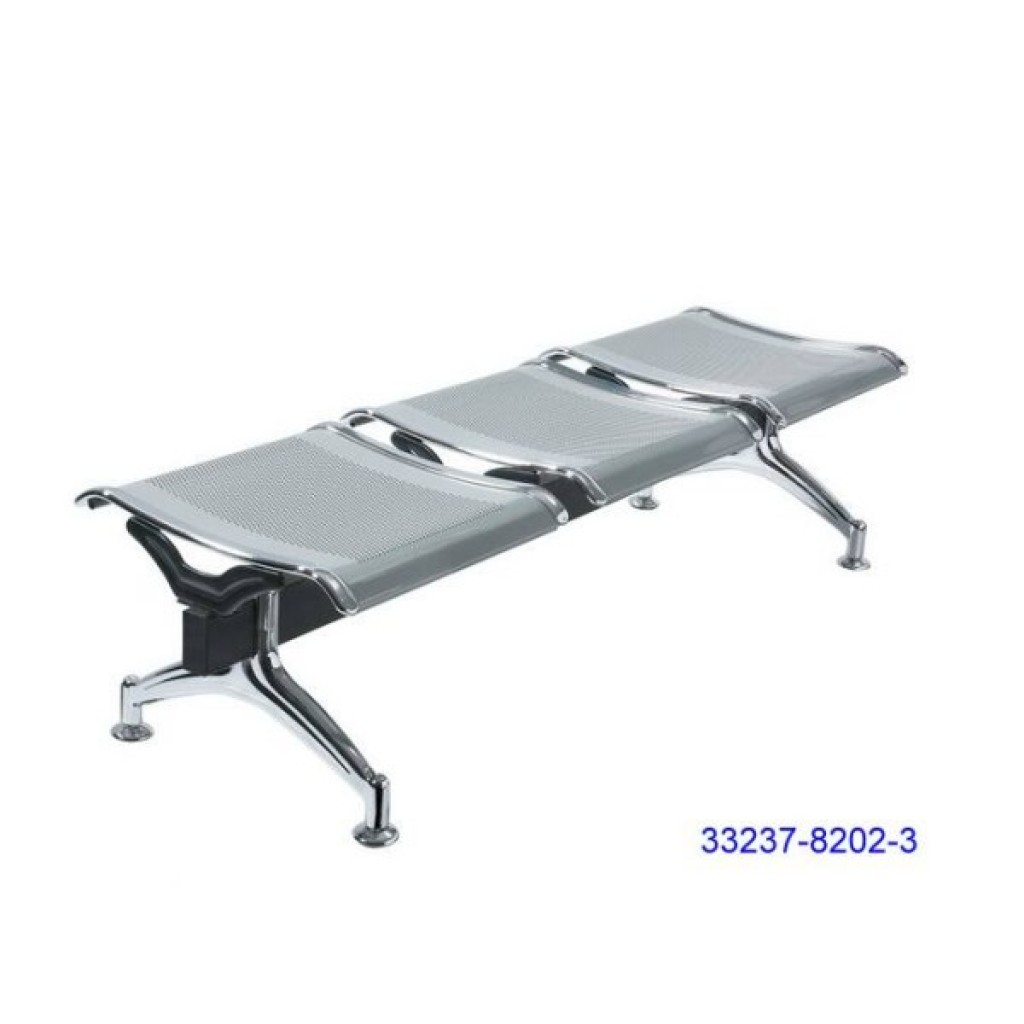 33237-8202-3 Steelplated Airport Chair