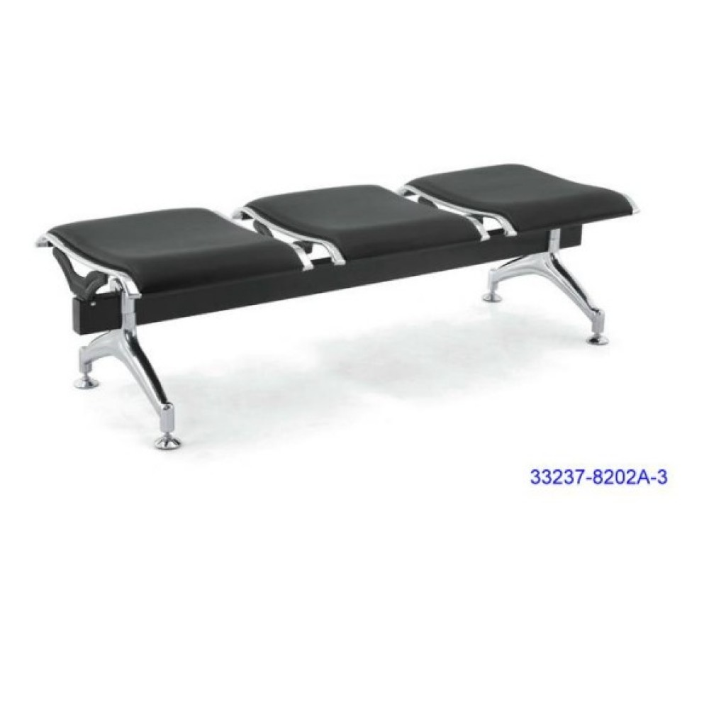 33237-8202A-3 PVC Airport Chair