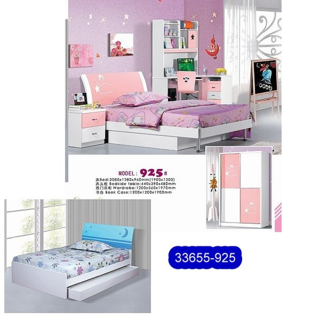 33655-925 Teenage Bedroom Set