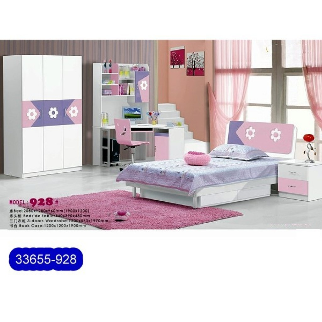 33655-928 Teenage Bedroom Set