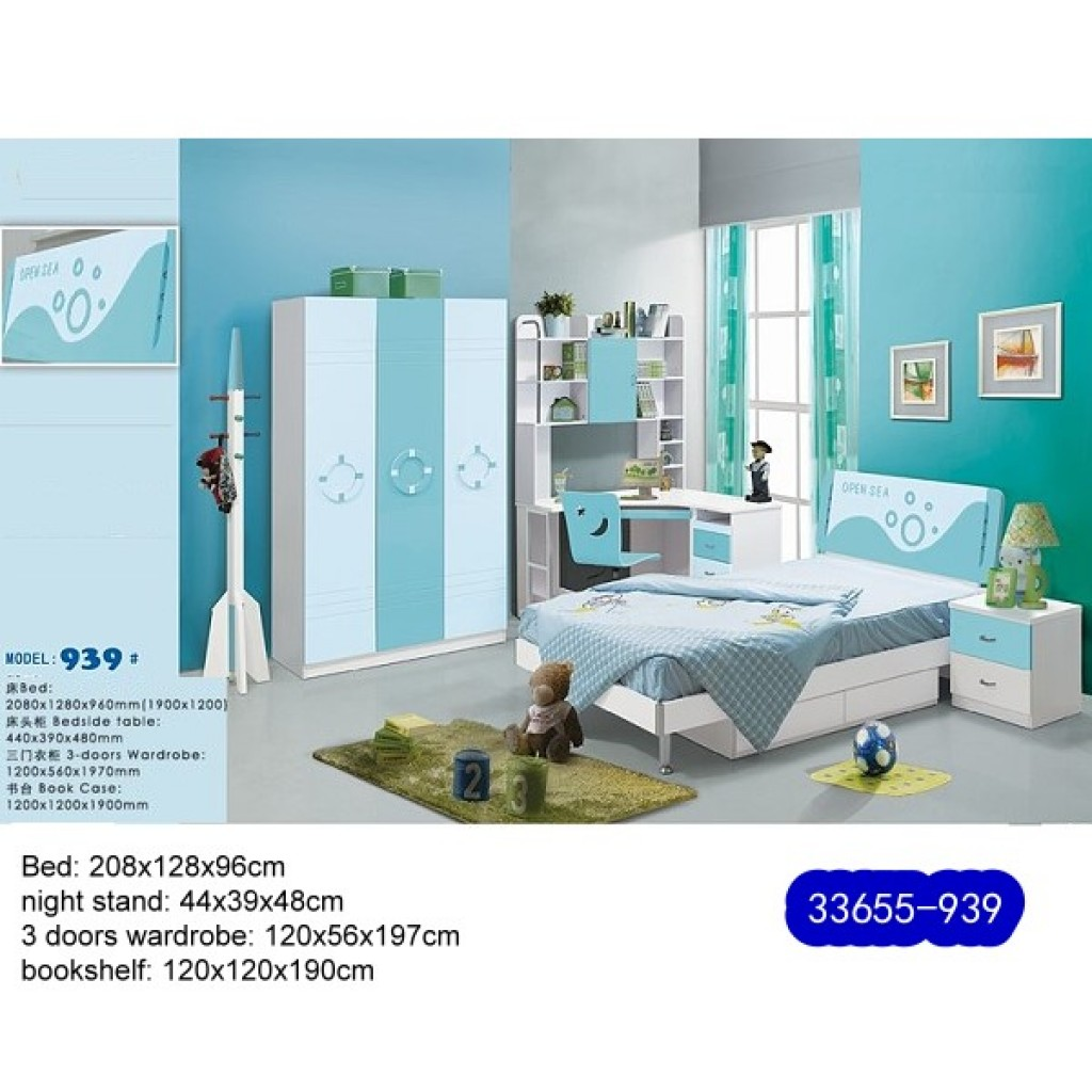 33655-939 Teenage Bedroom Set