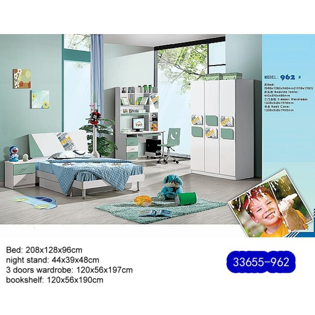 33655-962 Teenage Bedroom Set