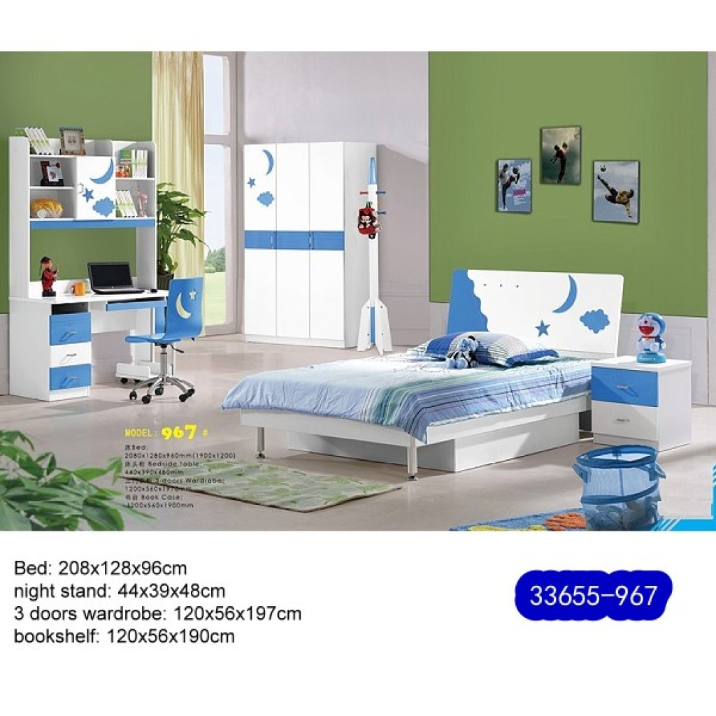 33655-967 Teenage Bedroom Set
