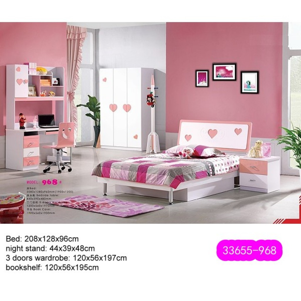 33655-968 Teenage Bedroom Set
