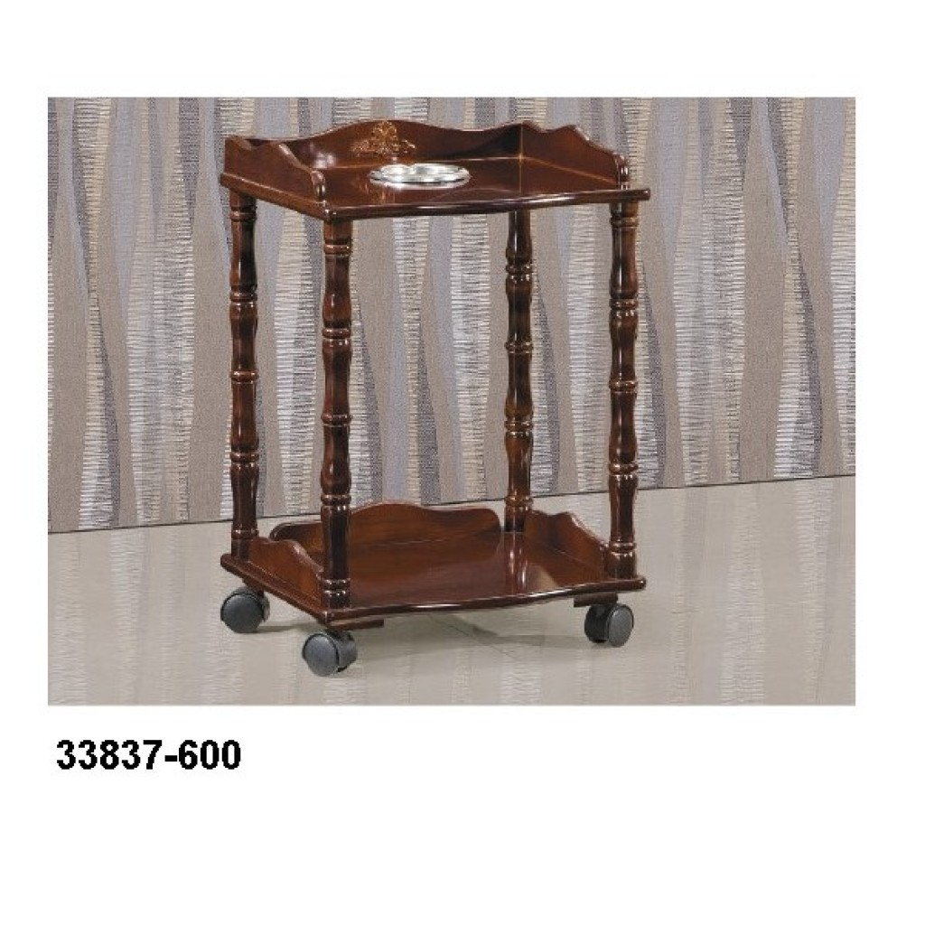 33837-600 Wooden telephone trolley