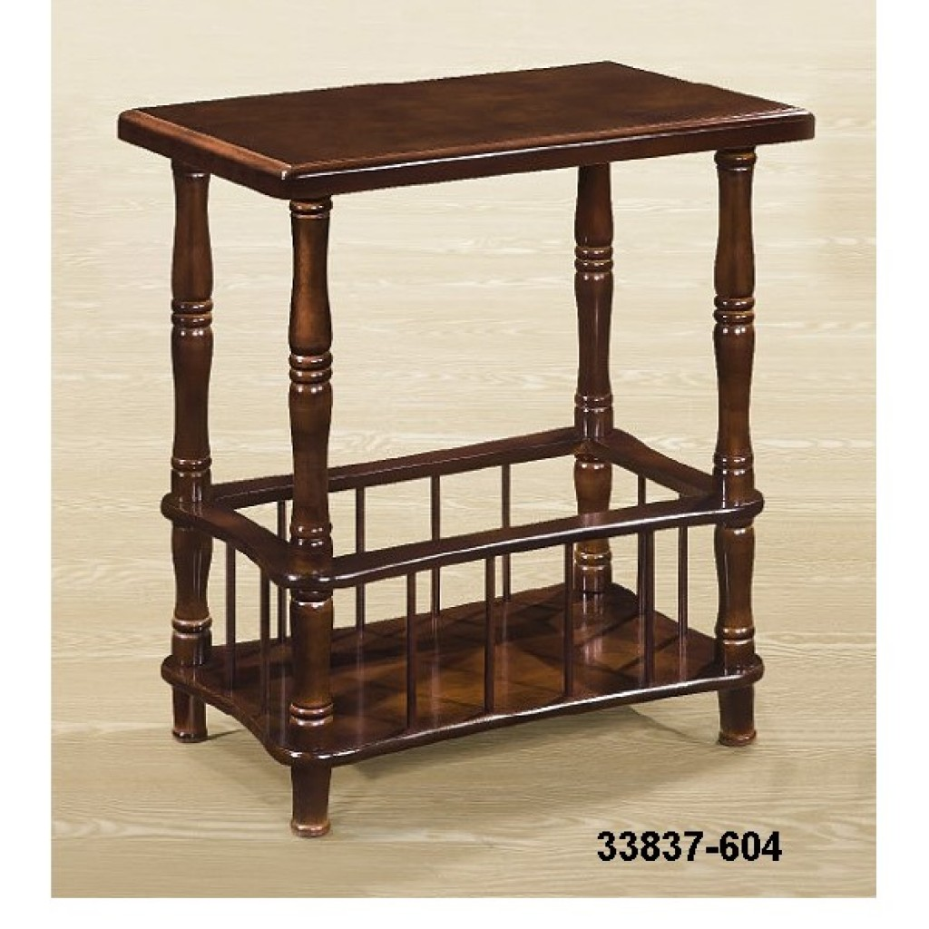 33837-604 Wooden Magazine Table
