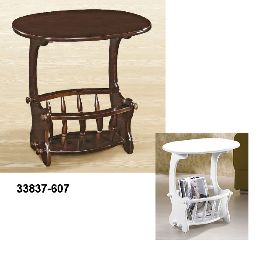 33837-607 Wooden Magazine Table
