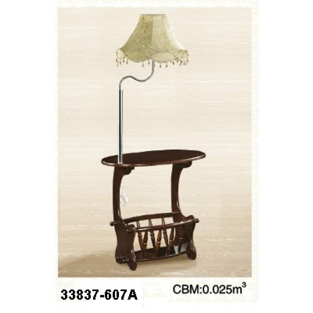 33837-607A Wooden lamp Magazine Table