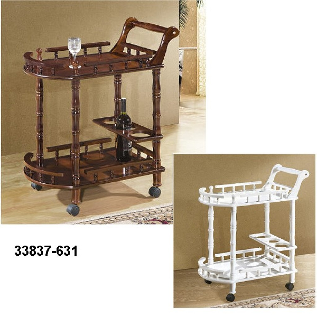 33827-631 Wooden Tea Trolley