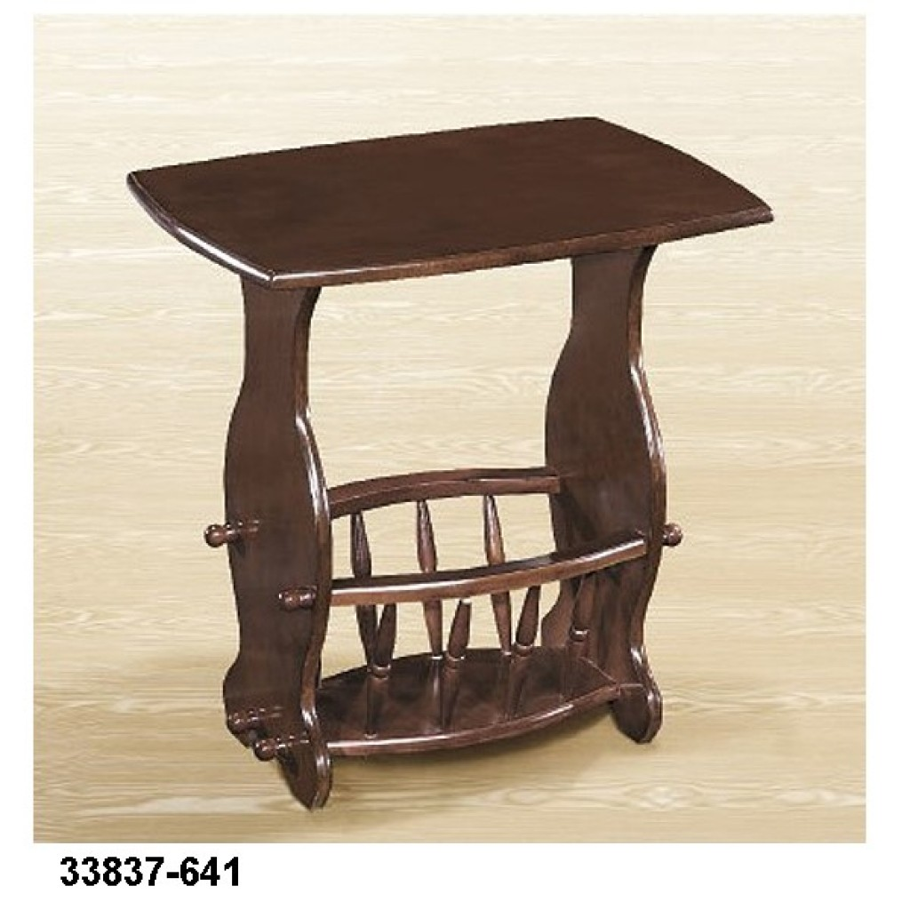 33837-641 Wooden Magazine Table