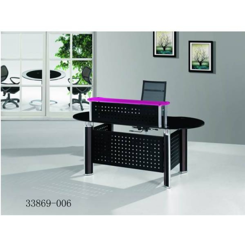 33869-006 glass desk