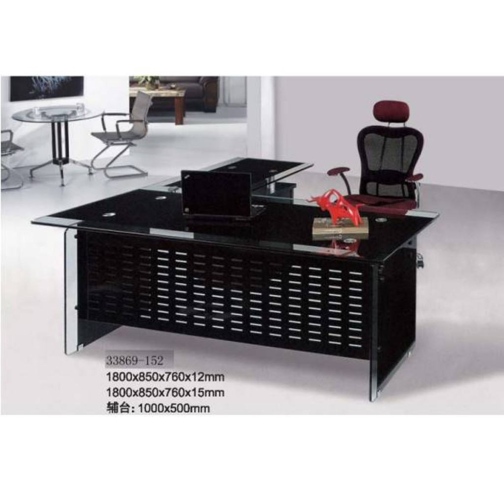 33869-152  glass office desk