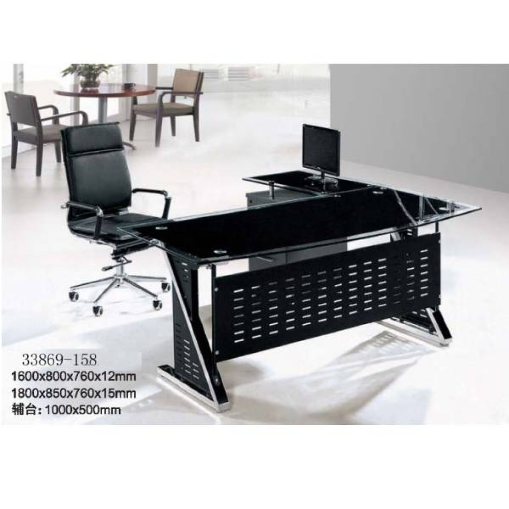 33869-158  glass office desk