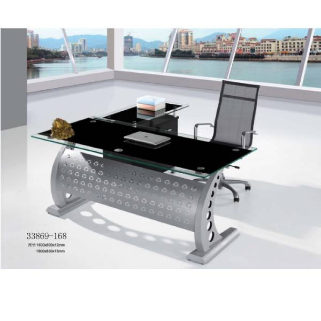33869-168 glass office desk