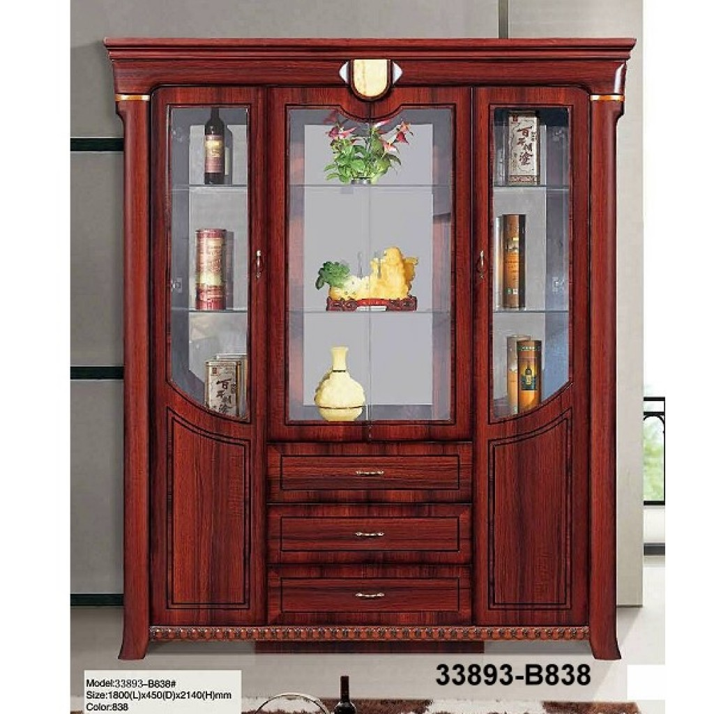 33893-B838 Wooden Hutch & Buffet