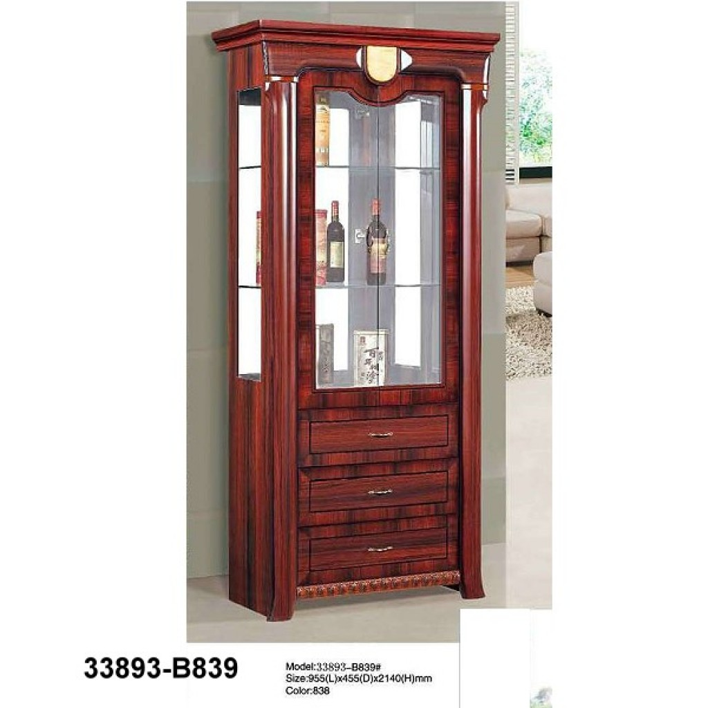 33893-B839 Wooden Hutch & Buffet