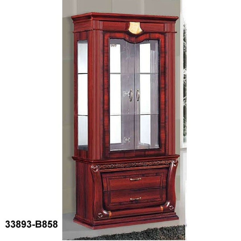 33893-B858 Wooden Hutch & Buffet