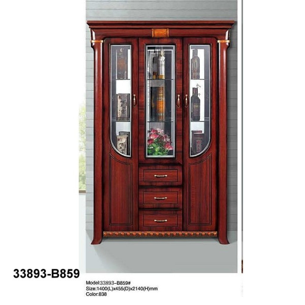 33893-B859 Wooden Hutch & Buffet