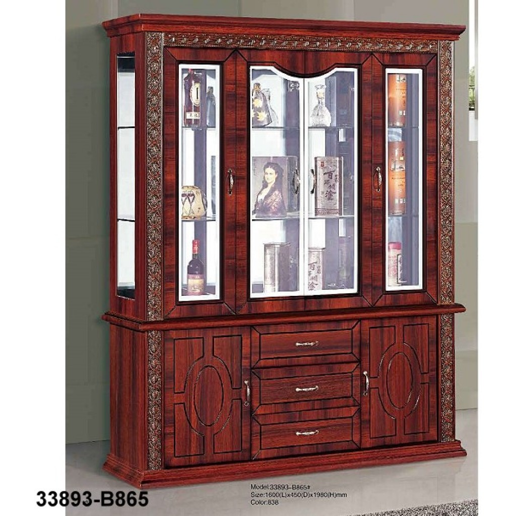 33893-B865 Wooden Hutch & Buffet