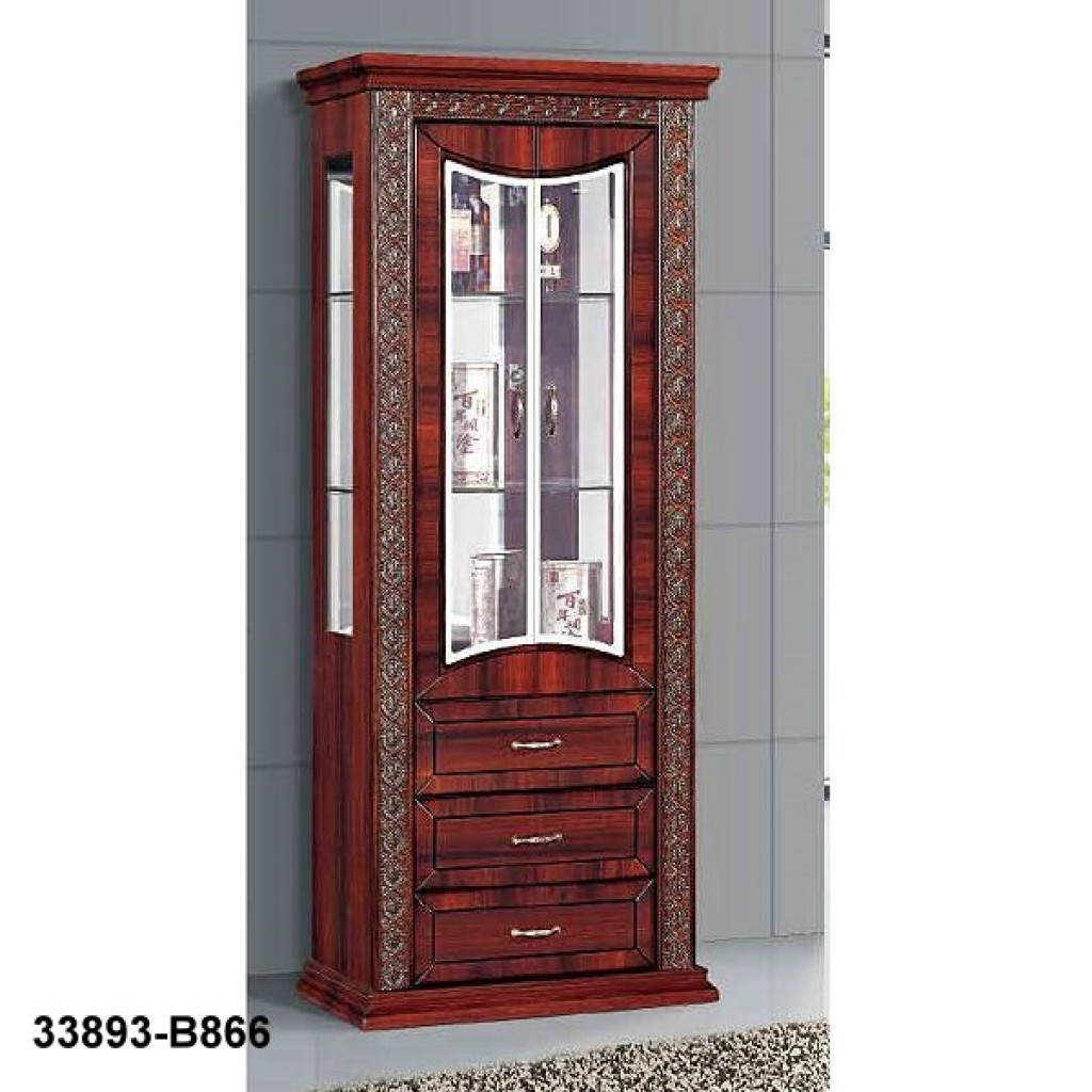 33893-B866 Wooden Hutch & Buffet