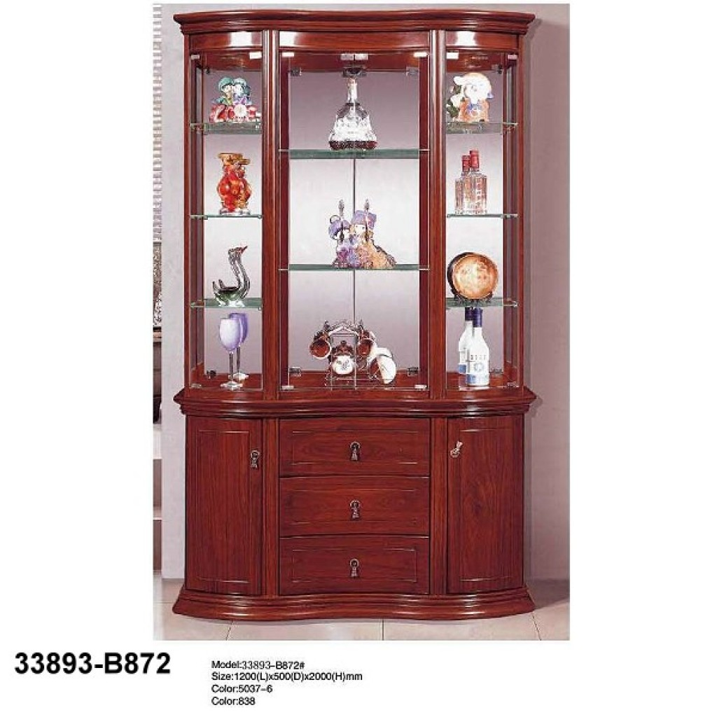 33893-B872 Wooden Hutch & Buffet