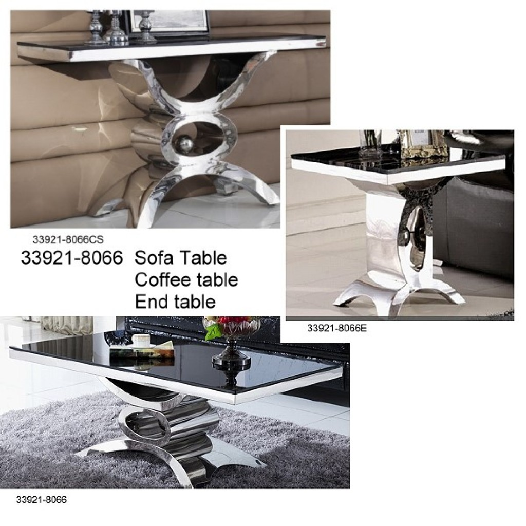 33921-8066 Stainless Steel Coffee Table