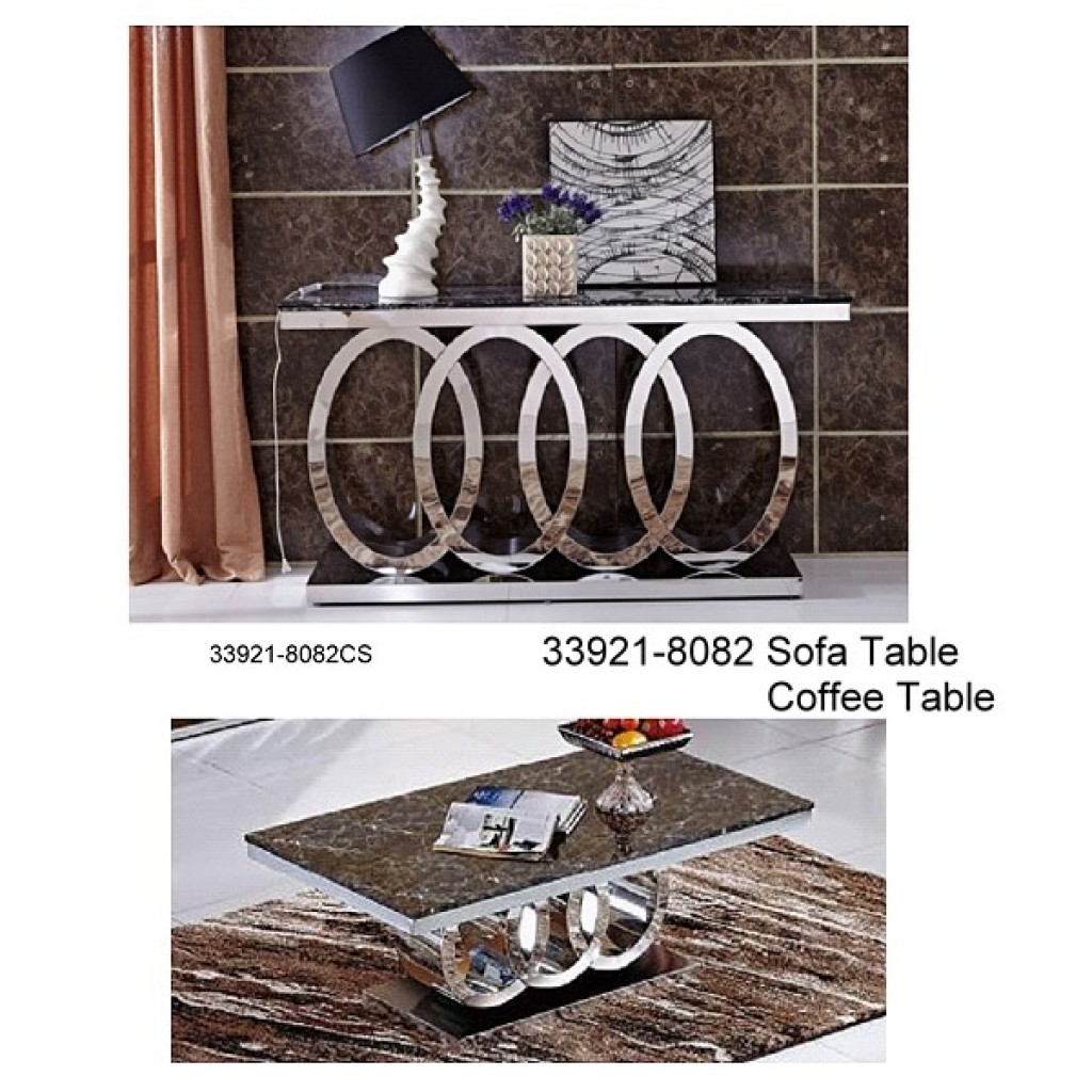 33921-8082 Stainless Steel Coffee Table