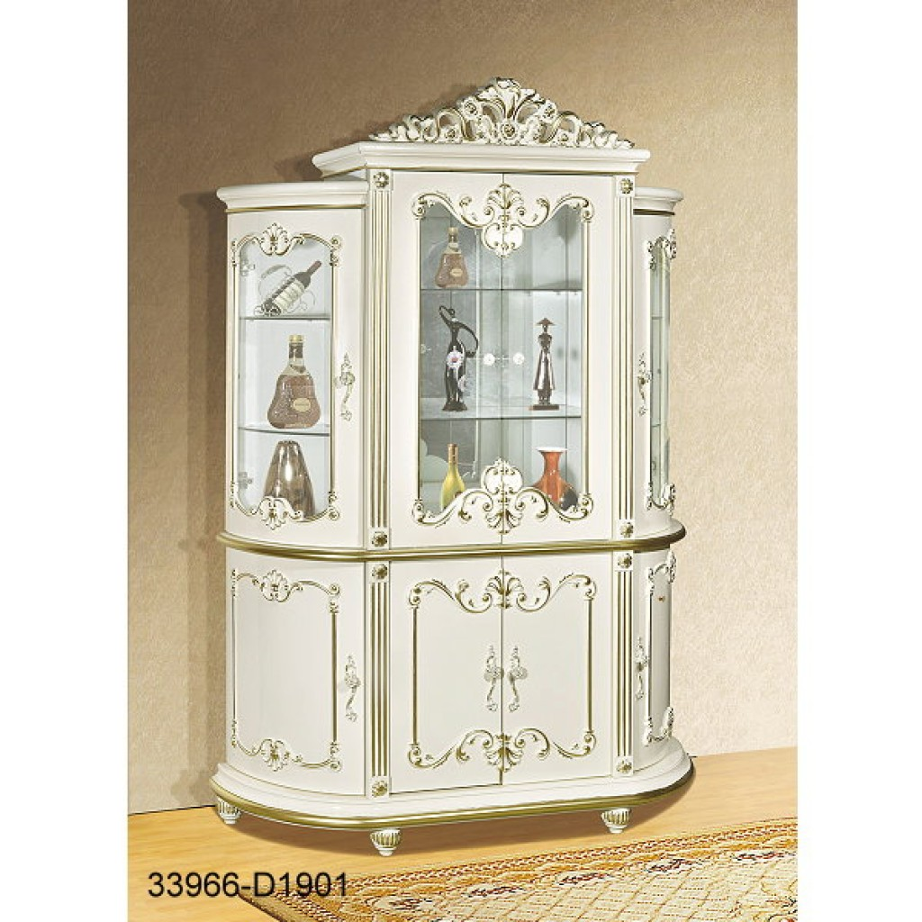 33966-D1901-IV-Wine Cabinet