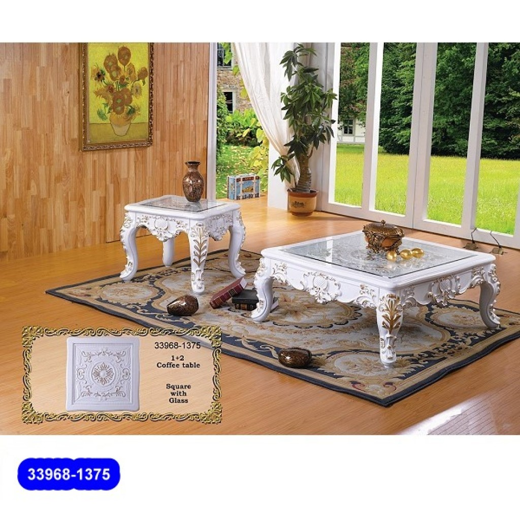 33968-1375 Wooden Classic Coffee Table